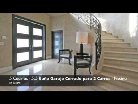 lujosas casas en alquiler en Miami