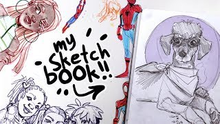 THE UNSEEN SKETCHES! | Sketchbook Tour | #21