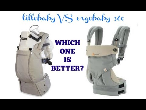 lillébaby COMPLETE VS ergobaby 360