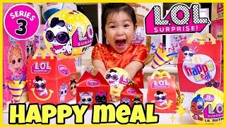 LOL SURPRISE PETS Series 3 WAVE 2 FOUND IN My McDonalds HAPPY MEAL on Lunar New Year?!!