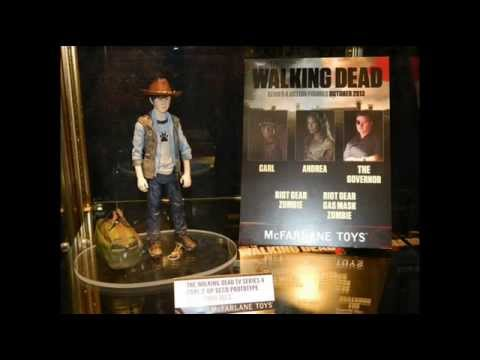 The Walking Dead TV Series 4 Action Figures - Carl Grimes, Andrea, The Governor, Riot Gear Zombies