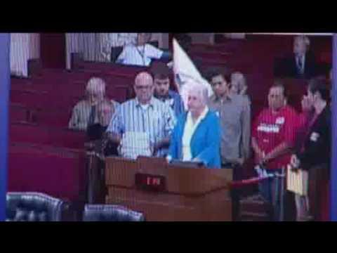 Black Man wears KKK Robe in City Council Meeting