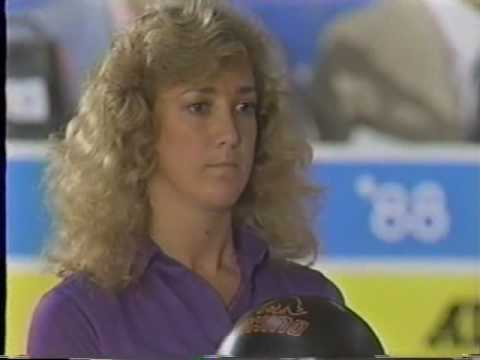 1988 Womens All America vs All Japan Games Bowling Exhibition part 9
