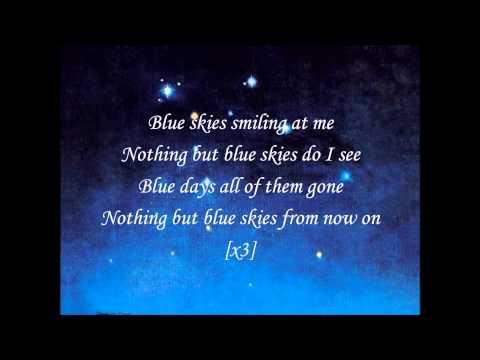 Willie Nelson-Blue Skies (with Lyrics)
