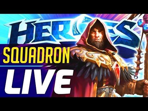 SQUADRON LIVE | Heroes of the Storm Medivh Gameplay | Heroes of the Storm Squadron Gameplay