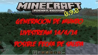 Minecraft pe 0.9.0 alpha build 1 / fecha de salida