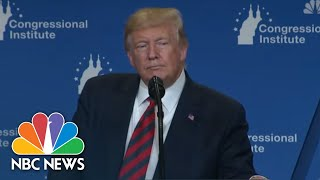 Trump Comments On Democratic Candidates As They Take Stage At Third Debate | NBC News