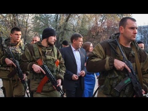 Ukraine crisis: President Poroshenko's threat after rebel polls