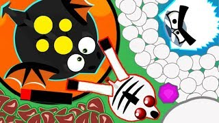 MOPE.IO *ZEBRA* KILLS BLACK DRAGON! EPIC NEW GLITCH INFINITE SNOWBALL ABILITY YETI TROLLING (Mopeio)
