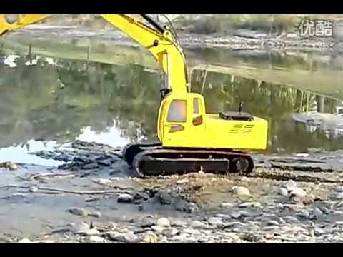 RC Hydraulic Excavator-1/12 Scale Special Edition