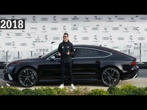 Футболисты Реал Мадрид получают свои новые машины