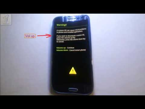 Tutorial Samsung Galaxy S3  how To Flash : Official Firmware
