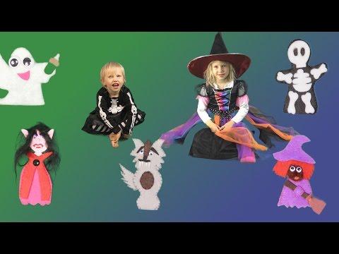 Finger Family Halloween Song | Fun Halloween Song for Kids | Children's song