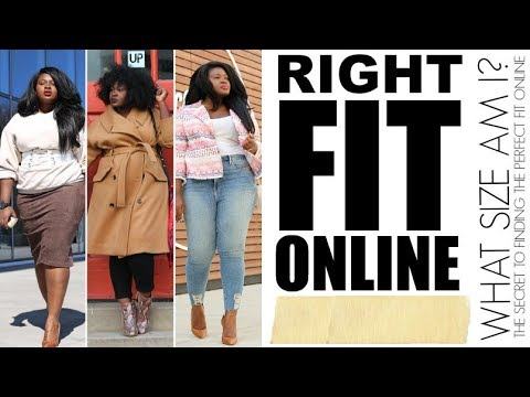 WHAT SIZE AM I ? HOW TO FIND THE PERFECT & RIGHT FIT ONLINE I PLUS SIZE FASHION