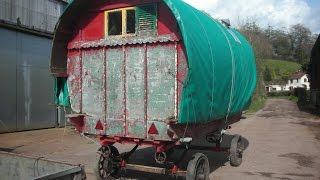 GYPSY CARAVAN RESTORATION part one