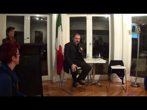 Carlo Lucarelli, crime-fiction writer, film director and TV presenter - 3 July 2013 - Part 2