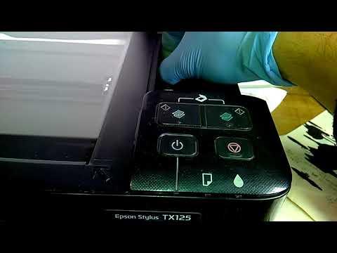 Reset de cartuchos sistema continuo EPSON TX125