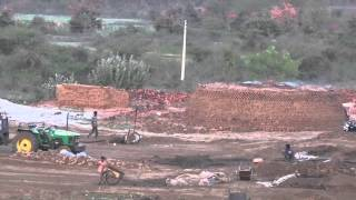 Brick Making Traditional Rural Manufacturing Indian style MP4 HD