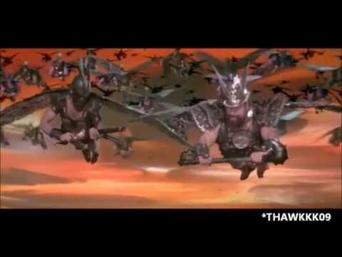 FLASH GORDON - HAWKMEN BATTLE SCENE