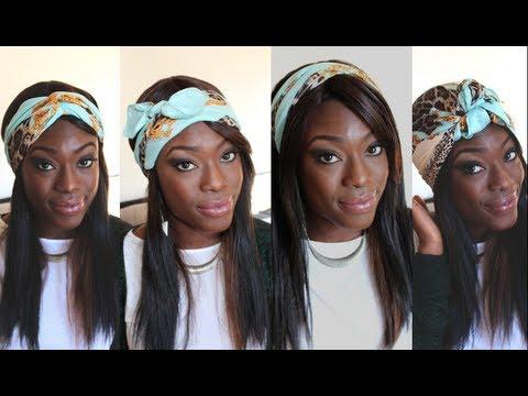 4 fa ons de porter le foulard youtube. Black Bedroom Furniture Sets. Home Design Ideas