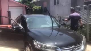 California Auto Glass Repair | Windshield Removal 2014 Honda Accord