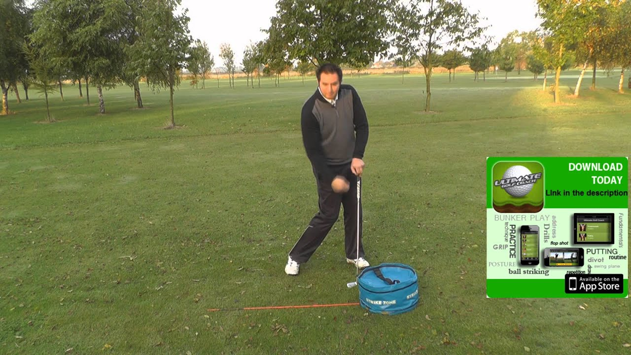 A Golf drill to help improve your Impact Position - YouTube