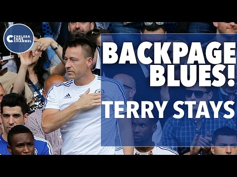 BackPage Blues | John Terry's Staying & Lukaku's Return?