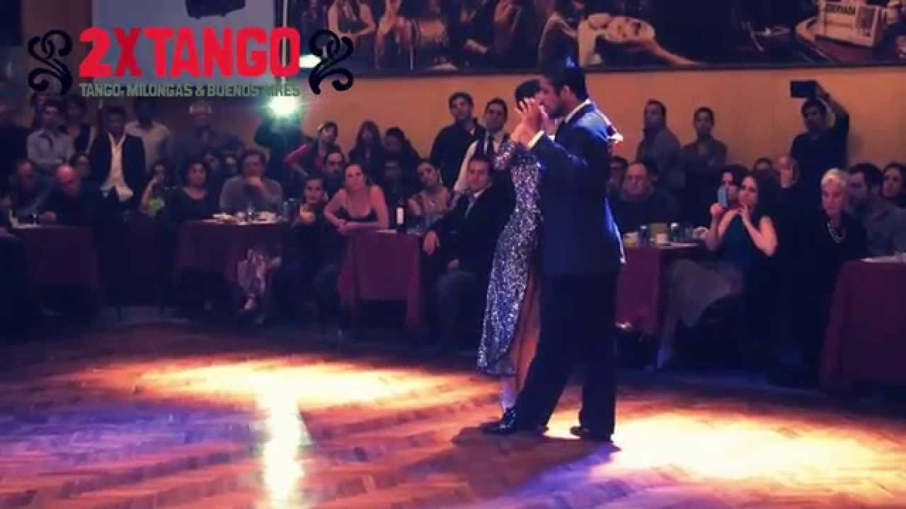 Roberto zuccarino magdalena valdez tango en salon canning ago 2014 1 youtube for A puro tango salon canning