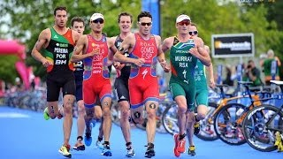 The most amazing last mile in a triathlon - epic sprint finish
