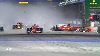 F1: Top 10 Dramatic Moments Of 2017
