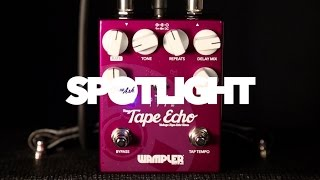 Wampler Faux Tape Echo Delay Pedal Overview