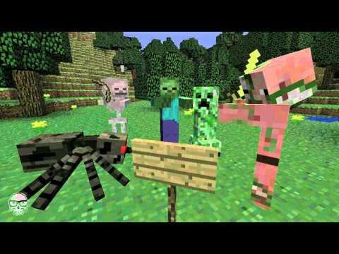 Siege on Castle Steve - Minecraft video by J!NX Music Videos