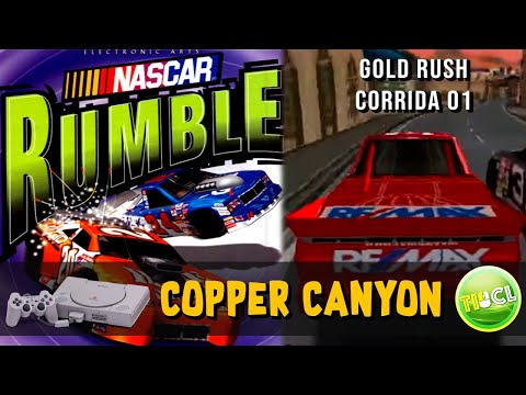 NASCAR Rumble - Playstation 1 - Corrida #1