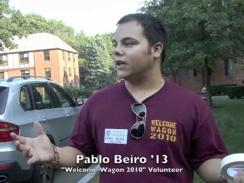 Moving In Day at Boston College Video