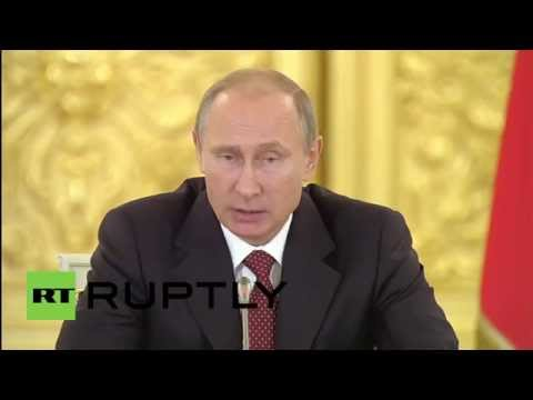 Russia: Putin slams human rights violations in Ukraine