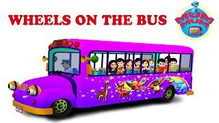download lagu The Wheels On The Bus Nursery Rhymes For Children gratis