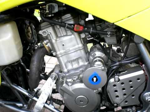 How To Change The Oil On A  Suzuki Drzsm