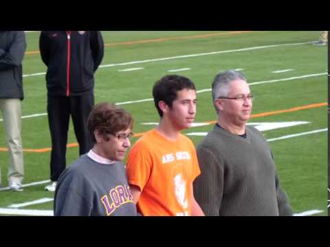 Ames High School Soccer - Senior night