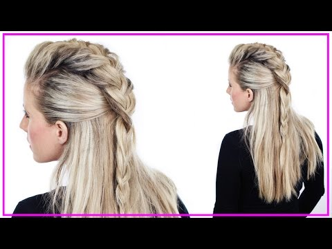 Half Up Faux Hawk Tutorial