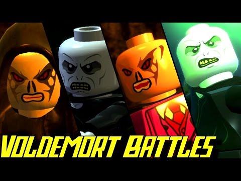 Evolution of Voldemort Battles in LEGO Harry Potter Games (2010-2016)