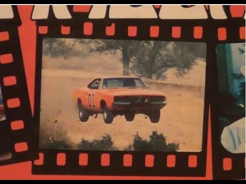 Waylon Jennings sings Dukes of Hazzard theme song on a Dukes of Hazzard record p