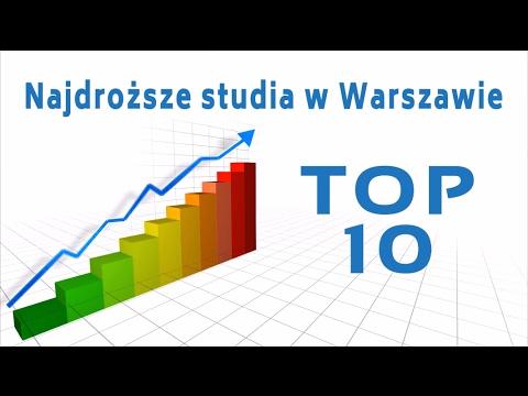 Studia Warszawa - TOP 10 - Najdroższe Studia W Warszawie 2016