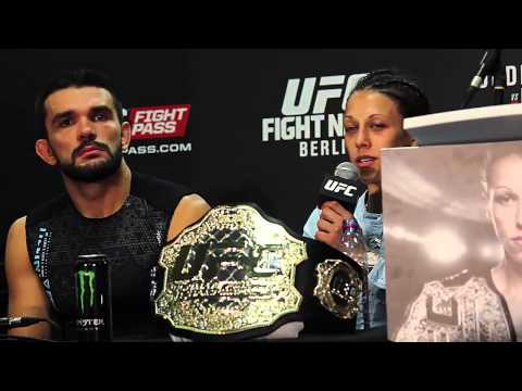 UFC Berlin Post Fight Press Conference