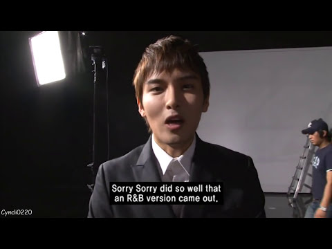 [ENG] All About Super Junior DVD - Sorry Sorry Answer MV Makig