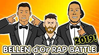 🌟Ballon d'Or 2019 RAP BATTLE🌟 Messi vs Van Dijk vs Ronaldo - Live!