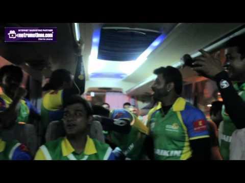 Kerala Strikers Cricket Team Bus - Bus Song