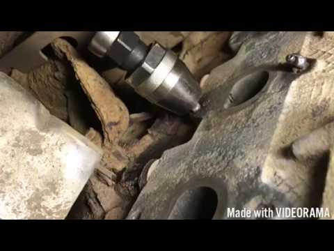 How replace Easy and less money Exhaust manifold Ford F350 V10