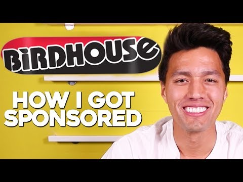 How I Got SPONSORED by Birdhouse Skateboards!