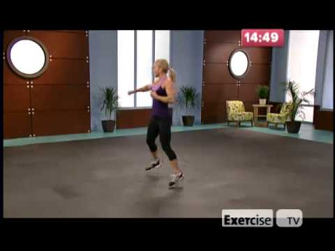 Exercise TV 10 lb Slimdown Cardio Kickboxing Image 1