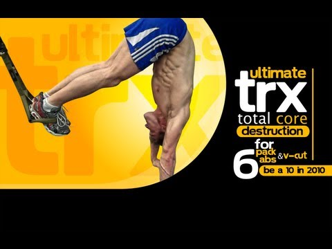 Ultimate TRX Total CORE Destruction For 6-Pack Abs and V-Cut